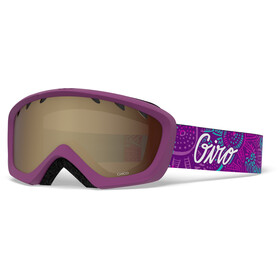 Giro Chico Goggles Kinder psych blossom/amber rose